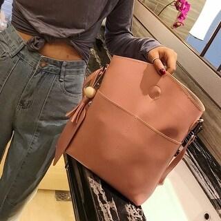 Women Bag Three Sets Large Capacity Shoulder Bag Messenger Mobile Handbags