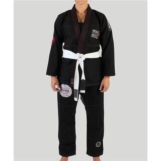 Keiko Womens Jiu-Jitsu Training Gi & Kimono, Black - Size W-3
