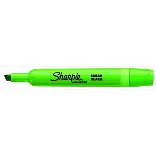 Smear Guard Non-Toxic Smear-Resistant Tank Style Highlighter,