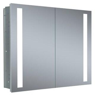 "Miseno MMCR4026LED 40"" W x 26"" H Frameless Recess Mounted Double Door Medicince"