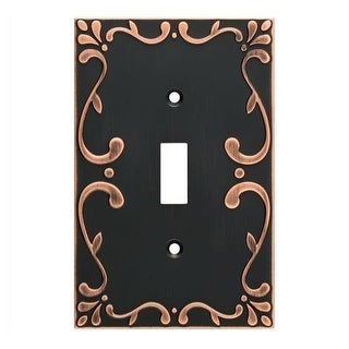 Franklin Brass W35070V-C Classic Lace Single Toggle Switch Wall Plate - Pack of