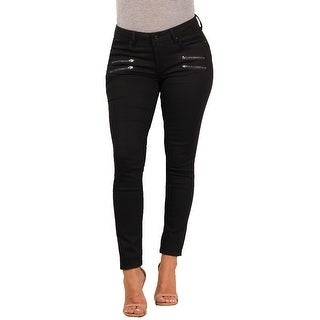Versace 19.69 Abbigliamento Sportivo SRL Ladies Contemporary Skinny-Stretch Double-Zip Jean