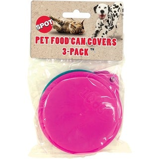 "- Pet Food 3.5"" Can Covers 3/Pkg"