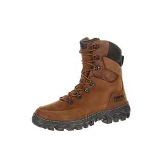 Rocky Outdoor Boots Mens S2V Jungle Hunter Waterproof Brown RKS0273