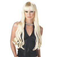 Adult Serpentine Blonde Wig for Halloween Costume - standard - one size