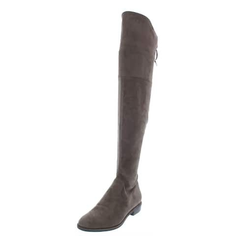 Marc Fisher Womens Humor 2 Over-The-Knee Boots Solid Riding