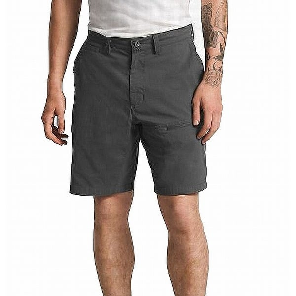 3f3aa714b The North Face Charcoal Gray Mens Size 40 Cargo Button-Front Shorts