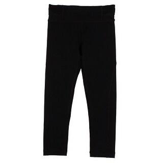 Tommy Hilfiger Deep Black Cropped Leggings XS