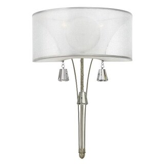Fredrick Ramond FR45602 2 Light Wall Sconce from the Mime collection