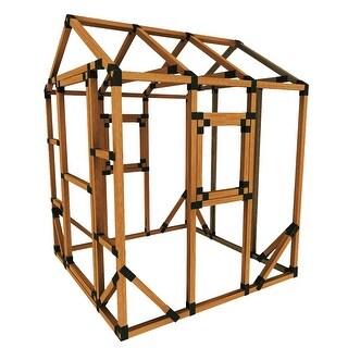 6X6 E-Z Frame Playhouse Kit - 6'x6'