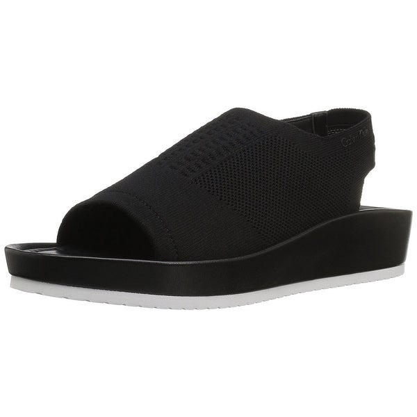 Calvin Klein Women's Hennie Flat Sandal