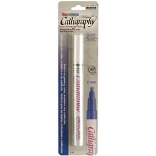 White - Deco Color Calligraphy Opaque Paint Marker 2Mm