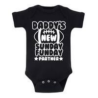 Daddys New Sunday Funday Partner - Infant One Piece