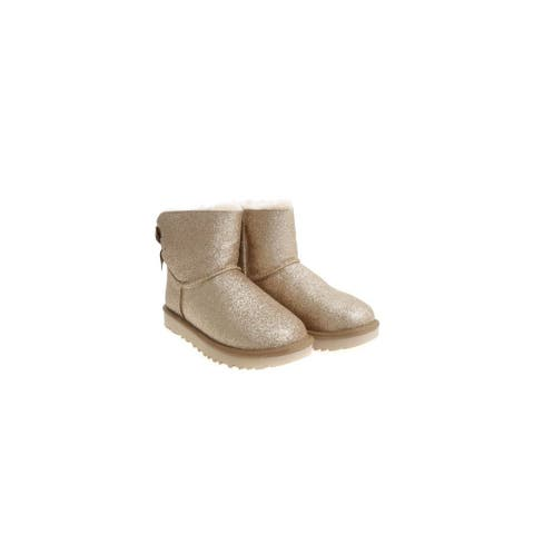 UGG Womens Mini Bailey Bow Sparkle Boot