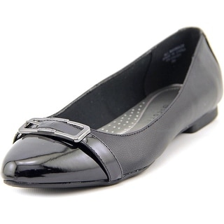 Karen Scott Cadyy Women Pointed Toe Synthetic Black Flats