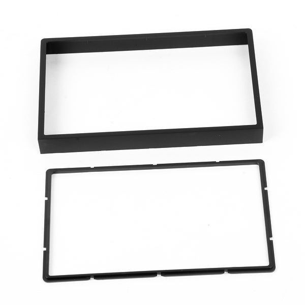 Unique Bargains Black Plastic Sudio Stereo System DVD Holder Frame for 2006-2007 Buik Excelle