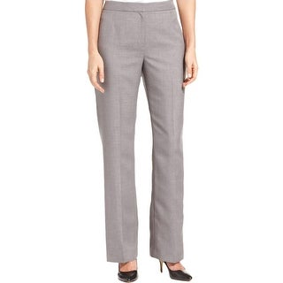 Kasper Womens Kate Dress Pants Classic Fit Relaxed
