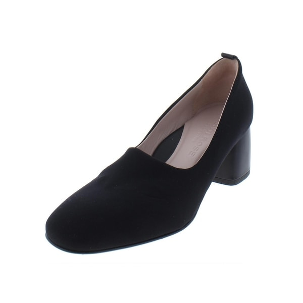 95486fc102a6 Taryn Rose Womens Ciana Block Heels Faux Trim Padded Insole - 7 medium (b