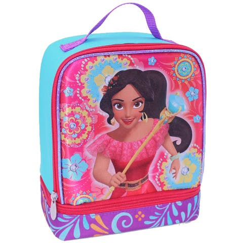 Disney Princess Elena Of Avalor Dual Compartment Lunch Box Lunch Bag Tote