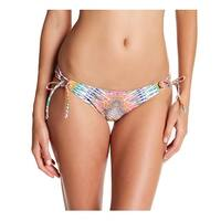Raisins Yellow Womens Size Large L Sweet Pea Abstract Bikini Bottom