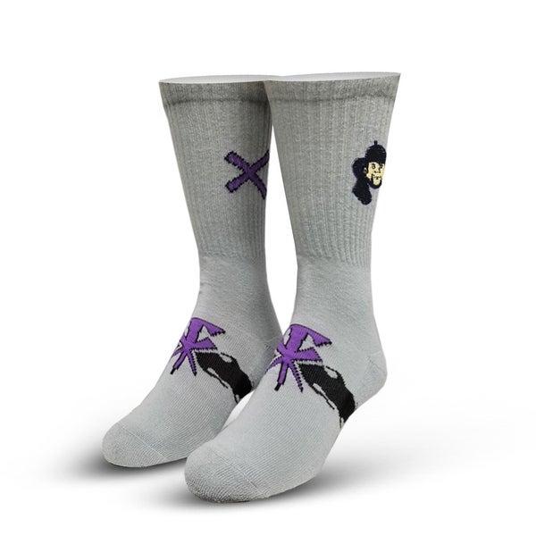 World Wrestling Entertainment Deadman Knit Socks, 6-13