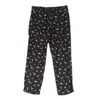 Lauren by Ralph Lauren Womens Floral Printed Pants