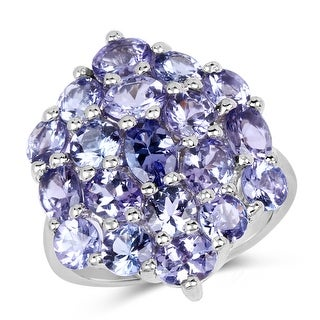 Link to Malaika Sterling Silver 5 1/3ct Tanzanite Ring Similar Items in Necklaces