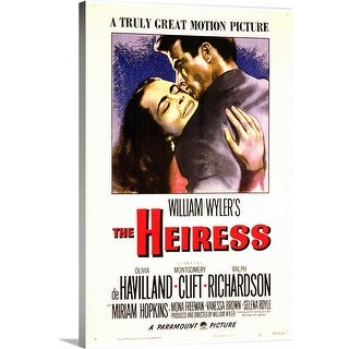 """The Heiress (1949)"" Canvas Wall Art"