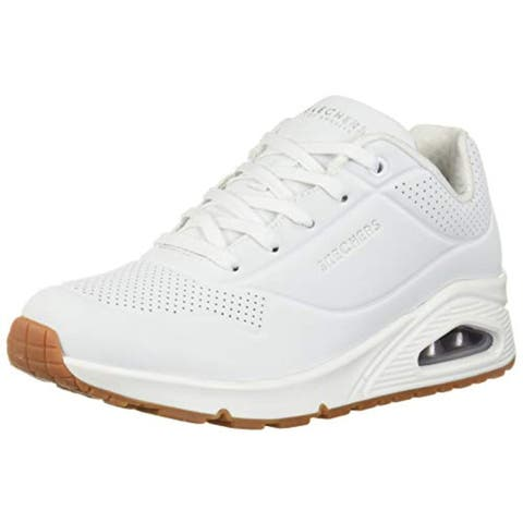buy size 7 white skechers women's athletic shoes online at