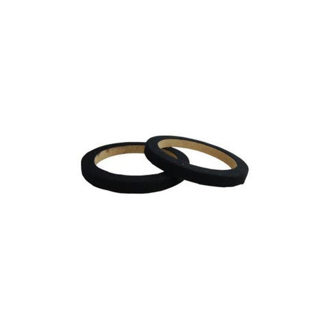 Nippon ring065cbk nippon 6.5 wood speaker ring with black carpet sold in pairs