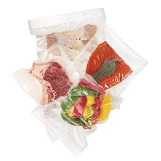 Hamilton Beach 78302 Vacuum Sealer Quart-Size Bags 30-Pack for Heat-Seal Systems - Clear
