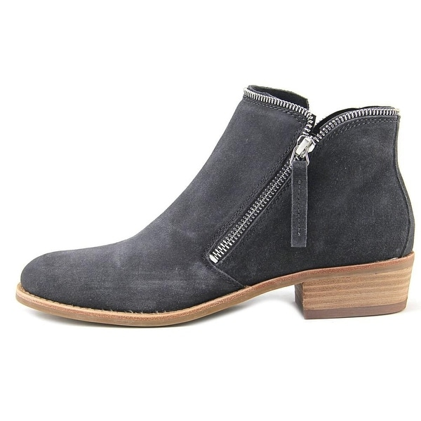 Dolce Vita Womens Sofiya Suede Closed Toe Ankle Fashion Boots