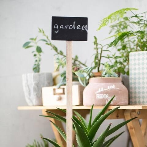 """RusticReach Flower Shop Garden Chalkboard Sign 24"""" Tall Set of 6"""