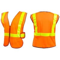 Sunlite ANSI Certified Reflective Cycling Safety Vest - Orange