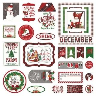 Mad 4 Plaid Christmas Cardstock Die-Cuts-
