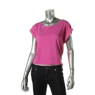 Nike Womens Hi-Low Dry Fit T-Shirt