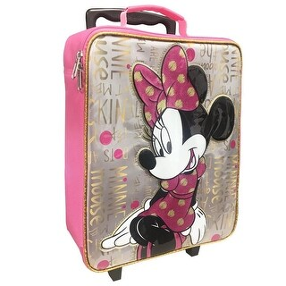 Disney Minnie Mouse Pilot Case Rolling Luggage