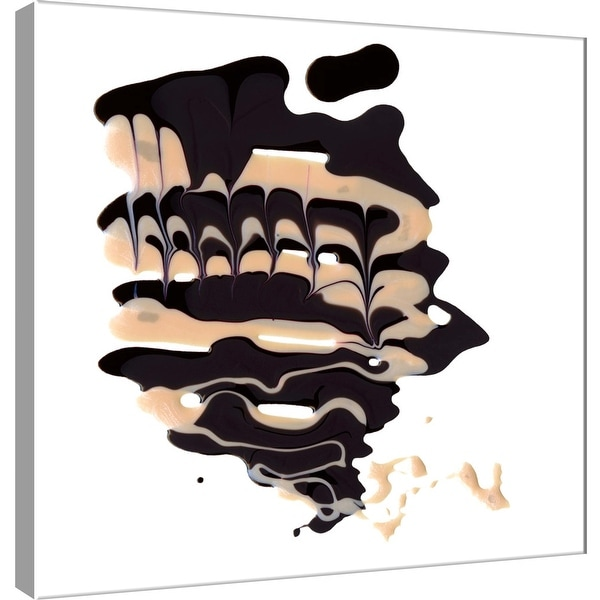 "PTM Images 9-101048 PTM Canvas Collection 12"" x 12"" - ""Polished in Chocolate"" Giclee Abstract Art Print on Canvas"