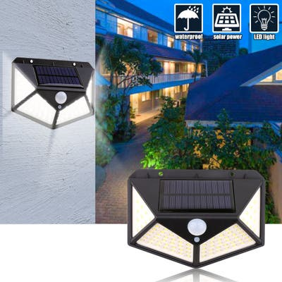 250LED Solar Wall Light Outdoor Safety Lighting Night Light Waterproof IP65 Motion Sensor Detector For Garden