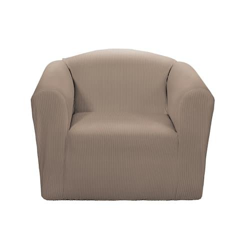 SureFit Montgomery One Piece Chair Slipcover