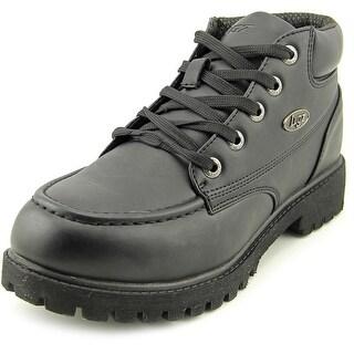 Lugz Ballista Water Resistant Men Round Toe Leather Boot