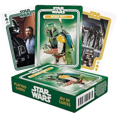 Star Wars Boba Fett Playing Cards - Multi