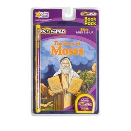 Active Pad Story of Moses Interactive Book and Cartridge