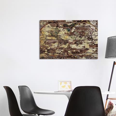 "iCanvas ""Secret Map"" by Diego Tirigall Canvas Print"