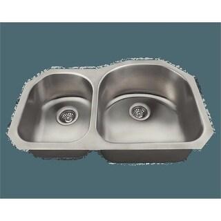 Polaris pr1301us 31.25 x 20 x 9 in. Stainless Steel kitchen Sink