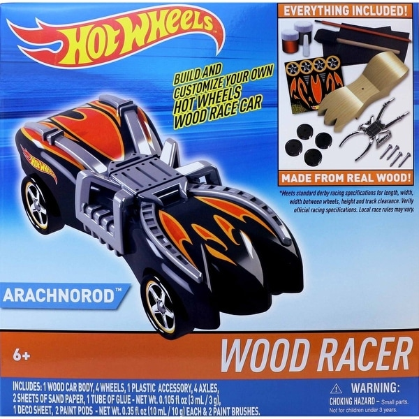 Hot Wheels Wood Racers Arachnorod