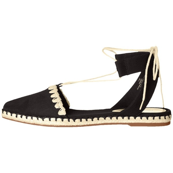 Nine West Womens Unah Leather Closed Toe Casual Espadrille Sandals