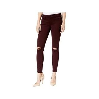 DL1961 Womens Margaux Ankle Jeans Denim Destroyed