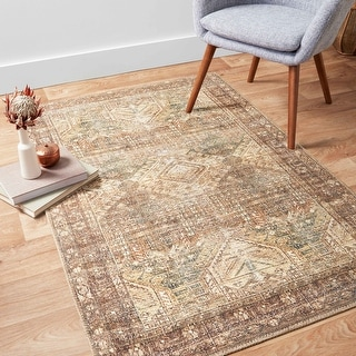 Link to Alexander Home Dhanya Oriental Distressed Area Rug Similar Items in Rugs