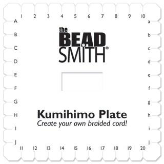 """Kumihimo Disk 6""""-Square"""